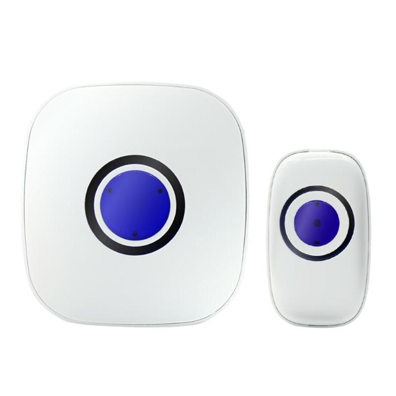 Wireless door ring music door bell, Waterproof Intelligent Chime Music Doorbell with 38 Tune Songs,AC 220V 0.5 W Door chime