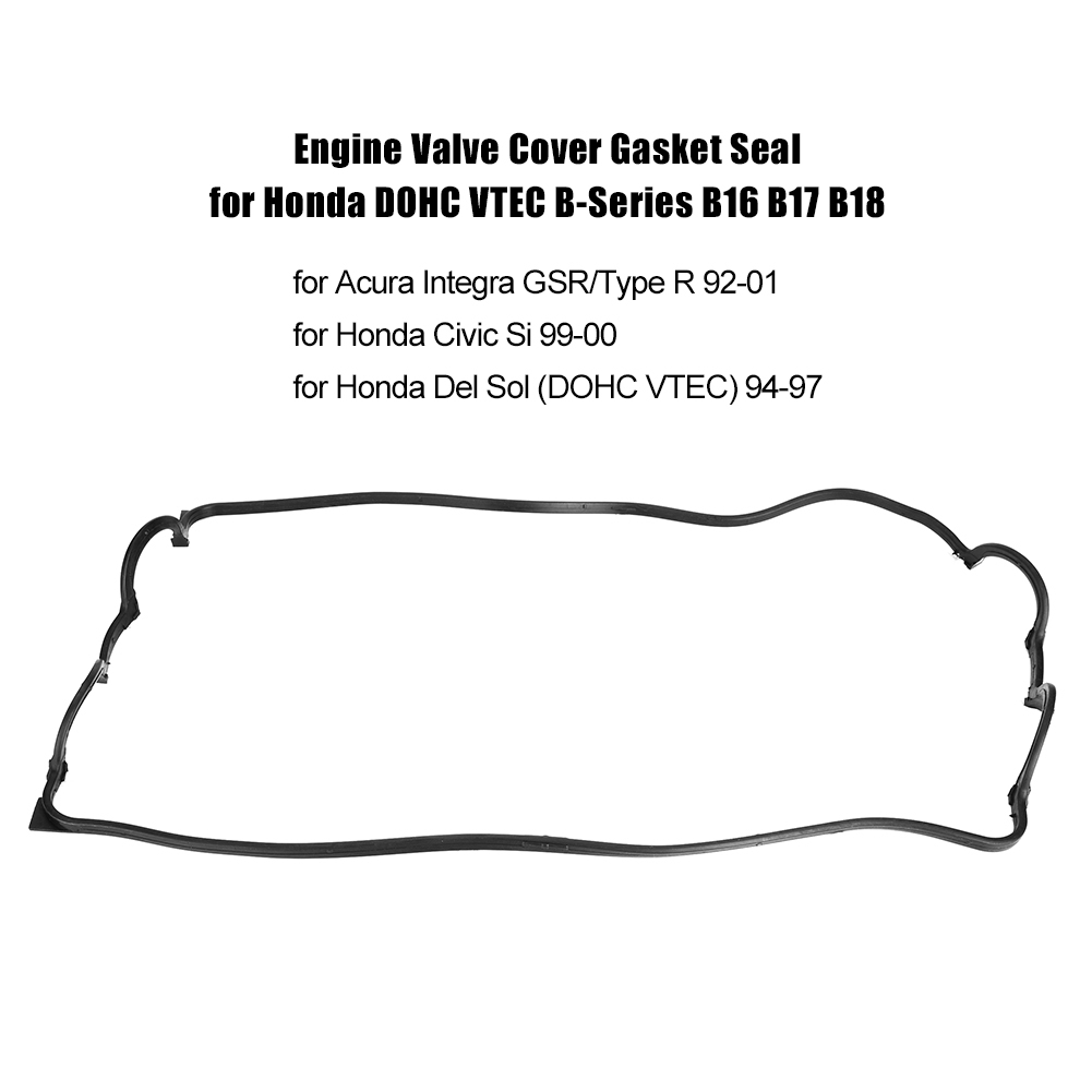 Car Engine Valve Cover Gasket Seal for Honda Civic Si Del Sol DOHC on