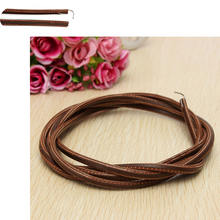 1 Pcs 180cm Leather Belt Treadle Parts with Hook for Singer Jones Sewing Machine Sewing Tools Accessory High Quality(China)
