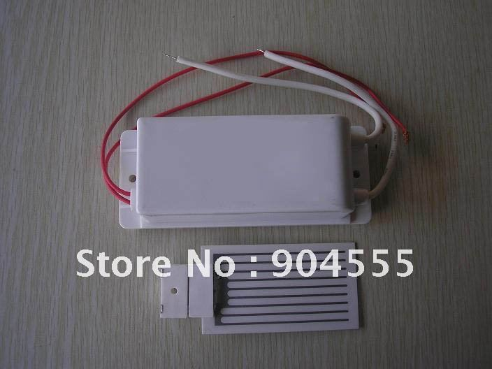 220v Ceramic ozone plate with power pack 3.5g/h for air purifier,home appliances DHL/FEDEX Free shipping