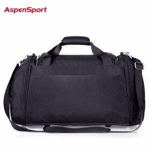 Image 3 - AspenSport 2017 Men Waterproof Weekend Bags Travel Luggage Nylon Duffle Bags Trip Handbag Large Bag Carry on hand bag