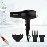 3000W Large Power Hair Dryer Professional Household Hairdryer Barbershop Blow Dryer Strong Wind Hair Dryer with 2 Wind Nozzle 31