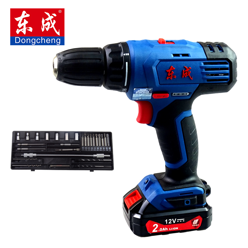 12V14.4V charging driller drill Dongcheng lithium drill electric screwdriver household power tools