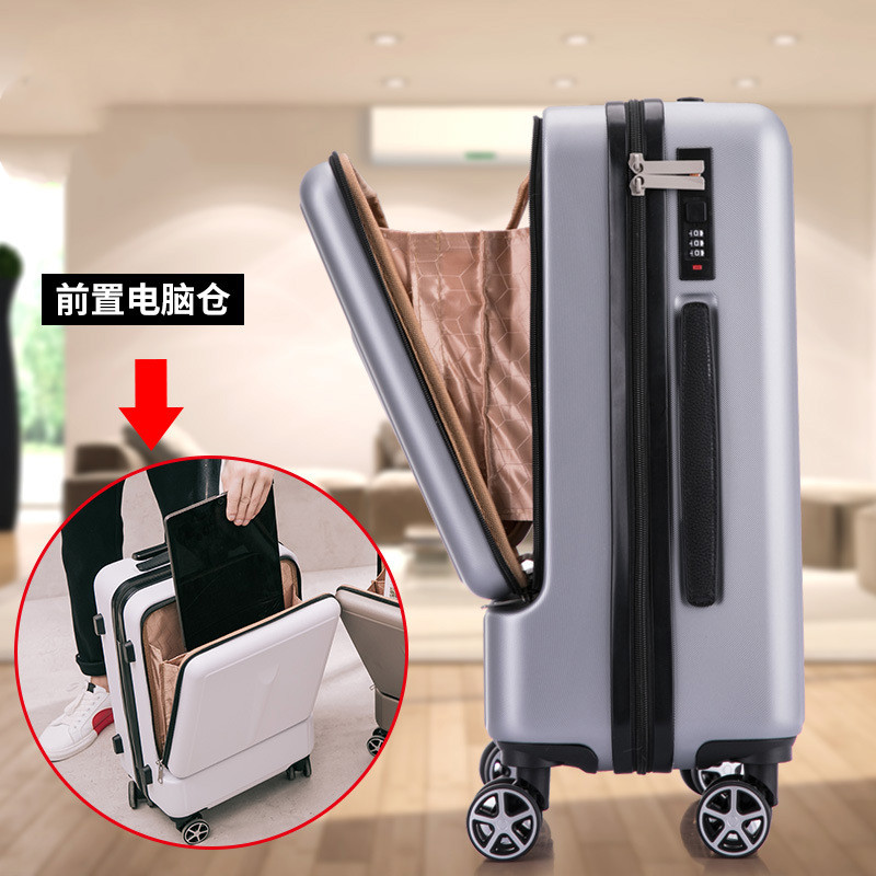 Travel tale High quality Luggage,20 inch men's business boarding Box,Universal wheel suitcase,New front computer bag
