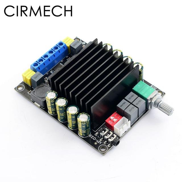 CIRMECH Digital Amplifier Audio Board TDA7498 Power Audio Amp 2.0 Class D Amplifiers Stereo HIFI amplifier DC12-36V   2*100W