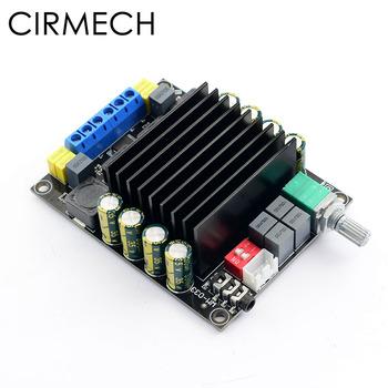 CIRMECH wzmacniacz cyfrowy karta Audio TDA7498 mocy wzmacniacz Audio 2 0 wzmacniacze klasy D Stereo wzmacniacza hifi DC12-36V 2*100W tanie i dobre opinie 100 w 2 (2 0) WM-033 TDA7498 Power Amplifier Board 4-8 ohms 20Hz-20KHz