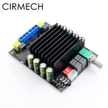 CIRMECH wzmacniacz cyfrowy karta Audio TDA7498 mocy wzmacniacz Audio 2.0 wzmacniacze klasy D Stereo wzmacniacza hifi DC12 36V 2*100W