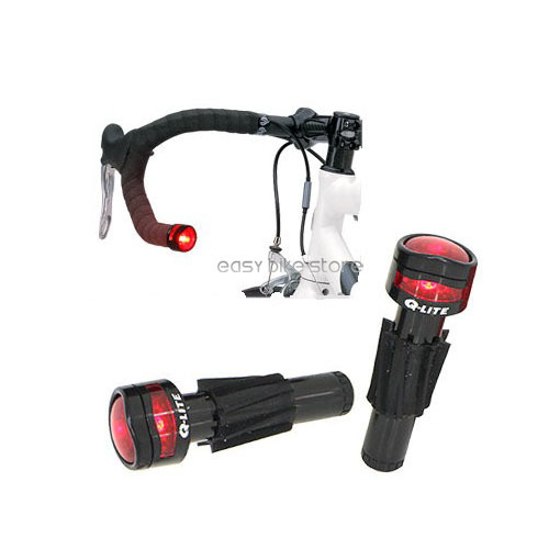 New Q Lite Handlebar Road Bar End Light In Bicycle Light From