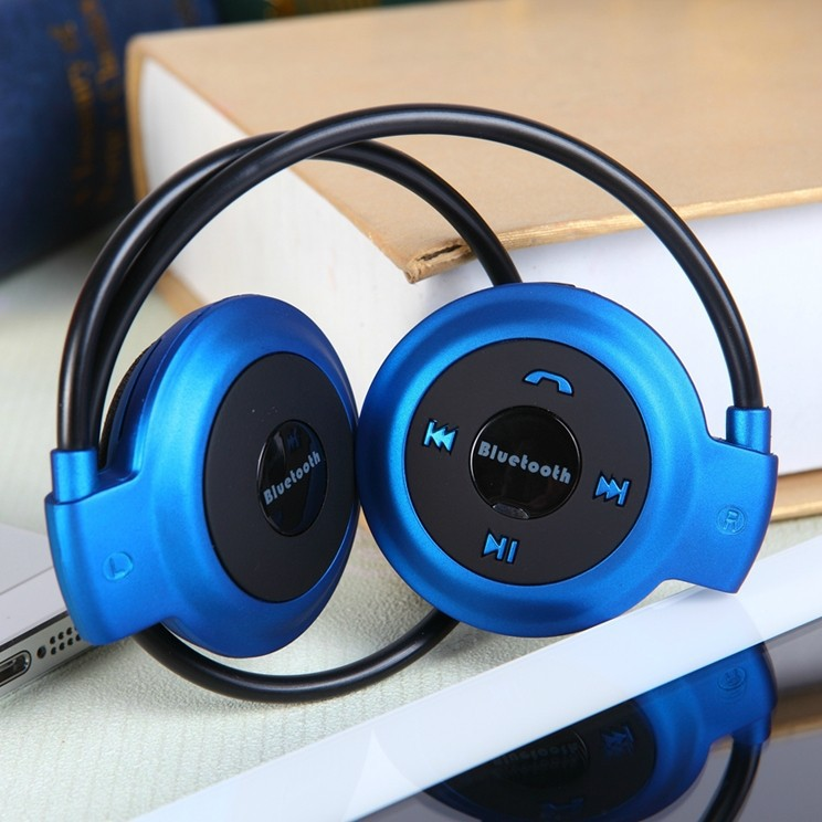 Image result for mini 503 headphone bluetooth blue