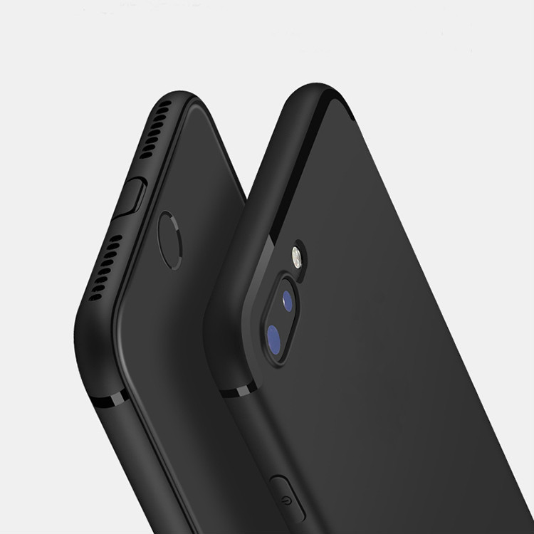For iPhone X Casse Ultra Thin Matte TPU Silicon Full Body Cover Case for iPhone 8 7 6 6S Plus 5 5S 5SE Case Scrub Phone Cases(China)