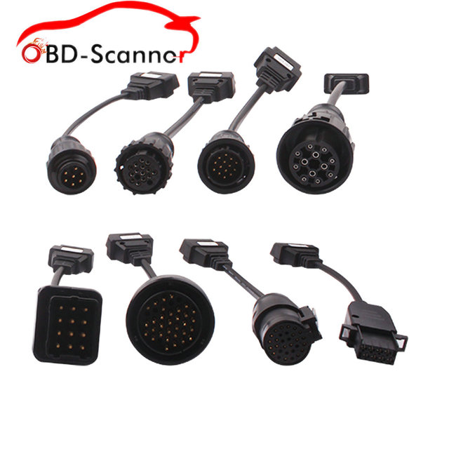 diagnostic cable Truck Cables CDP Pro OBD2 OBDII Trucks connect cableTrucks Cables For Knorr MAN IVECO SCANIA BENZ Renault VOLVO