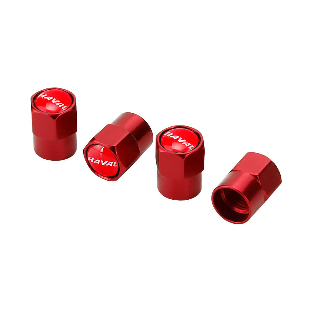 Tapas metálicas del vástago de la válvula del neumático para Haval Tabanca H6 H2 H3 H5 H7 H8 Sport Coupe M2 M4 T FEK Silah Korna Car accesorios exteriores