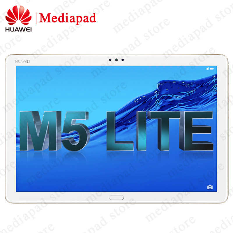 Global ROM HUAWEI MediaPad M5 lite 10.1 inch 4GB 64GB HUAWEI M5 lite Tablet PC Kirin 659 Octa Core Android 8.0 Fingerprint
