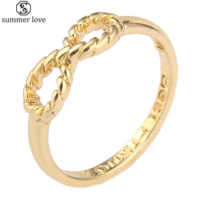 Fashion Infinity Rings Friendship Forever Best Friend Mini Mid