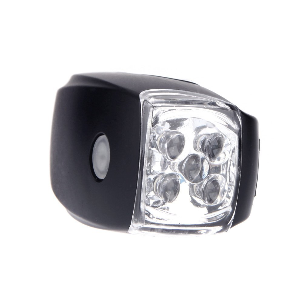 Cycling Bike Headlight Front Light 5 LED Lamp Bicycle Light Safety Lamp 3 Mode