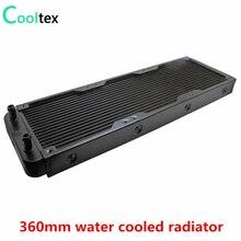 Radiador refrigerado por agua de aluminio para ordenador disipador de calor, enfriador láser de CPU, 360mm, nuevo, 100%