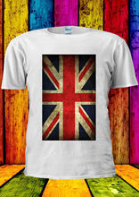 Union Jack Flag United Kingdom T-shirt Vest  Top Men Women Unisex 1414 New Tops Tee Funny freeshipping
