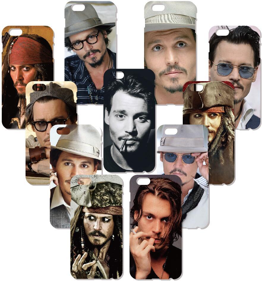 Johnny Depp Hard Case For Samsung Galaxy S9 Plus E5 E7 i9082 S5 S6 S7 Edge Note 3 4 5 Phone Cover Coque Capa Fundas Bumper