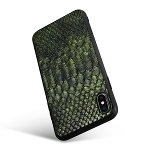 Image 3 - XOOMZ For iPhone XS Max Case Python Snake PU Leather Silicone TPU Slim Full Protection Back Cover For iPhone XS XS MAX XR X Case