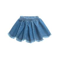 Summer Spring Girls Denim Skirts Children Kids Clothes Casual Toddler Girl Mini Party Jean Tutu Skirt Baby Clothing