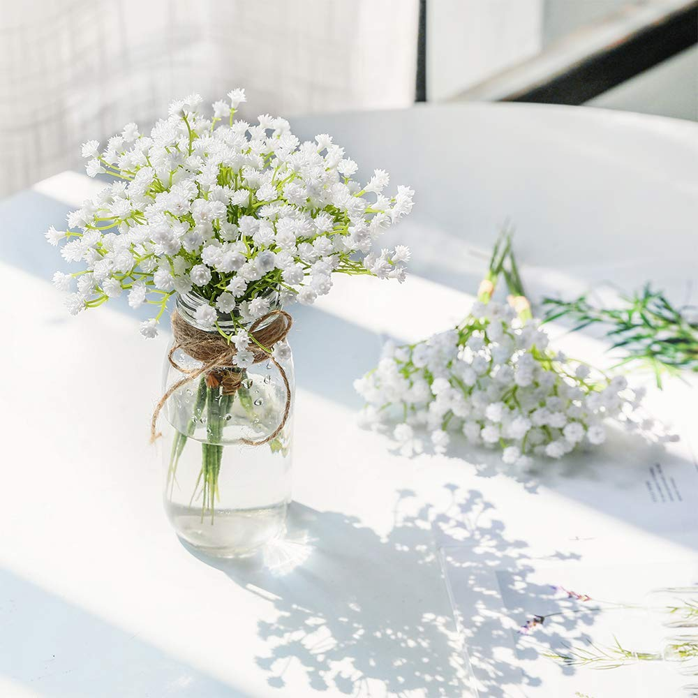 CHENCHENG Fake Gypsophila Arrangement Floral-Bouquets Breath-Flowers Artificial Home-Decor