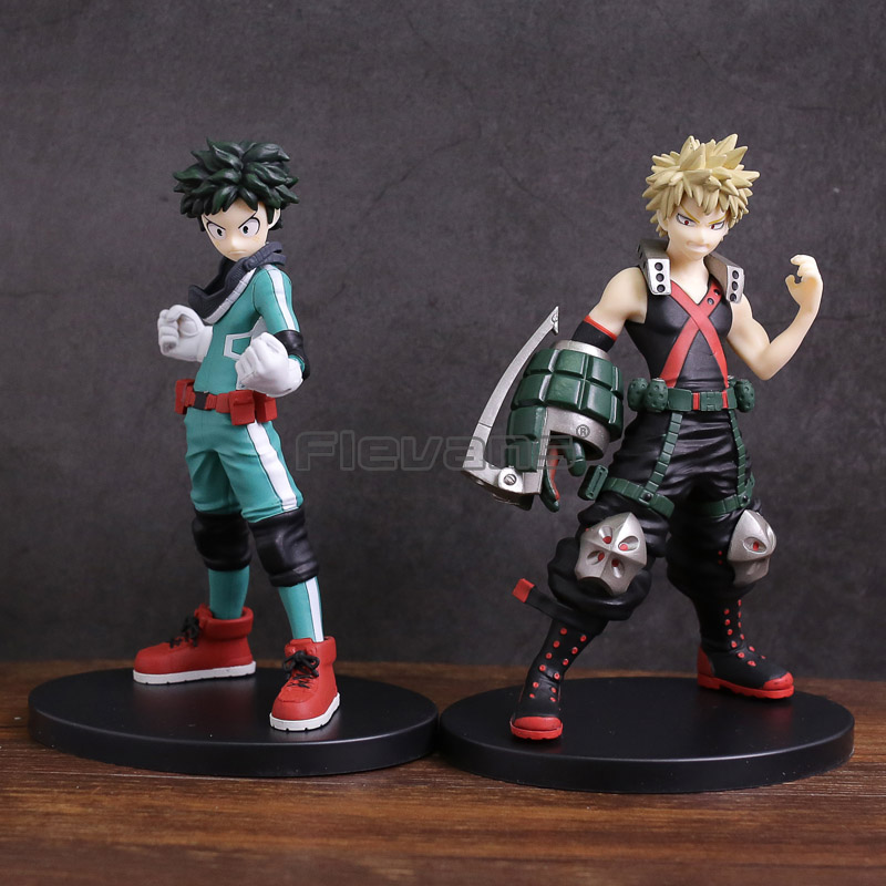 My Hero Academia Izuku Midoriya / Bakugou Katsuki PVC Figure Collectible Model Toy все цены