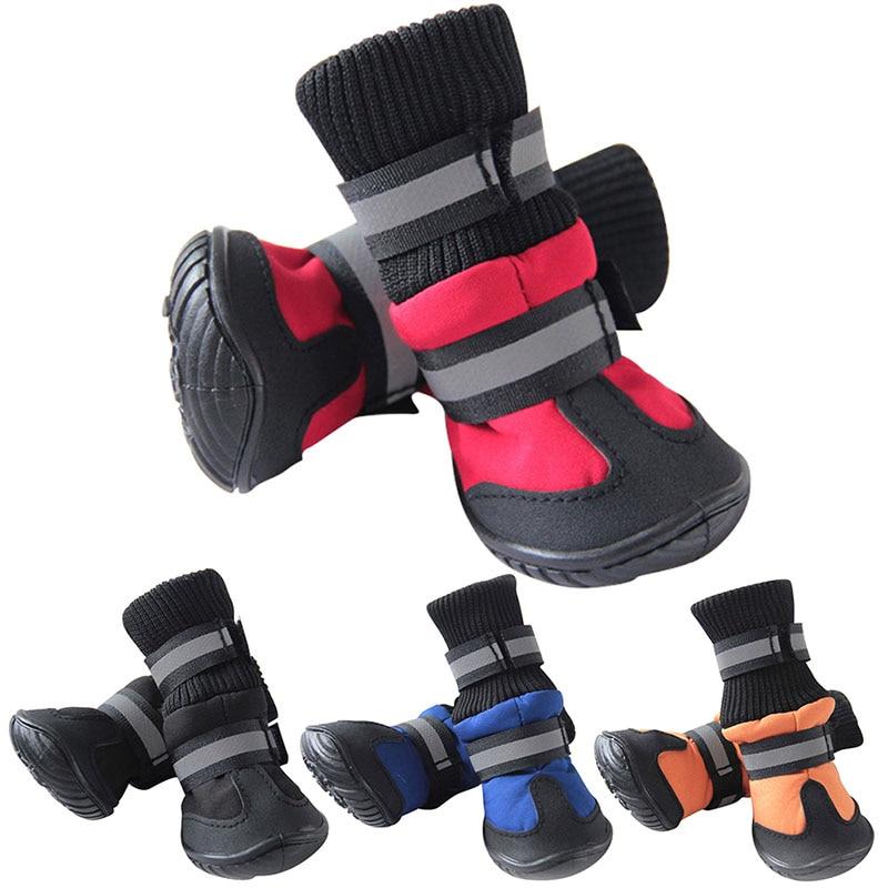 dog snow boots