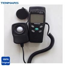 TM-201 Fonte Luzes LED Digital Light Medidor Luminometer Lux Medidor de Medição Incluem Todas As Faixa Visível