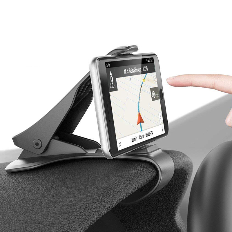 US $2 59 29% OFF Dashboard Car Phone Holder for iPhone X/Huawei P20 Lite  Clip Mount Holder Mobile Phone Holder Stand for GPS Cell phone holder-in