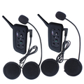 2x V6 BT Multi Bluetooth Intercomunicador Del Casco de la Motocicleta Auriculares Auricular 6 Riders Interphone 1200 M Casco Buques De España