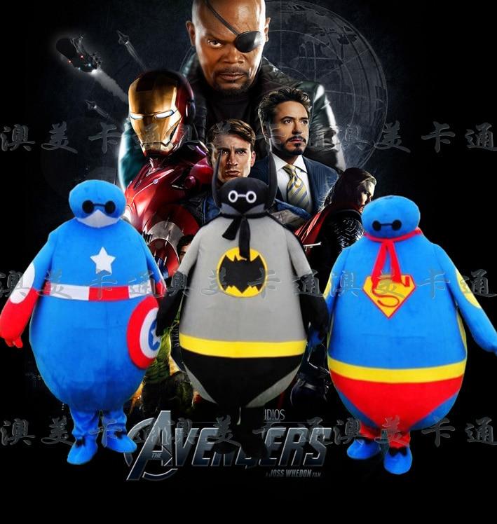 Super héros gros ventre poupée Mascotte Costume Cosplay thème Mascotte carnaval Costume fantaisie carnaval personnage Costume adulte