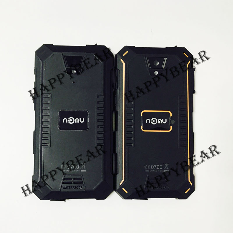 New Protective Battery Case Cover Housing Power On/Off Button + Volume With Lens For NOMU S10 IP68