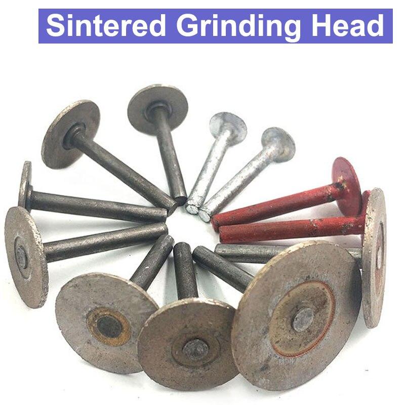 URANN 6mm Shank Diamond T-Shaped Hot Pressed Sintered Diamond Grinding Head Stone Carving 15mm 20mm 25mm 30mm 40mm