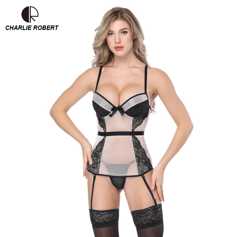 Sexy   Corsets   And   Bustiers   Women High Quality Apricot Push Up Lingerie Firm Lace Up Female   Bustier     Corset