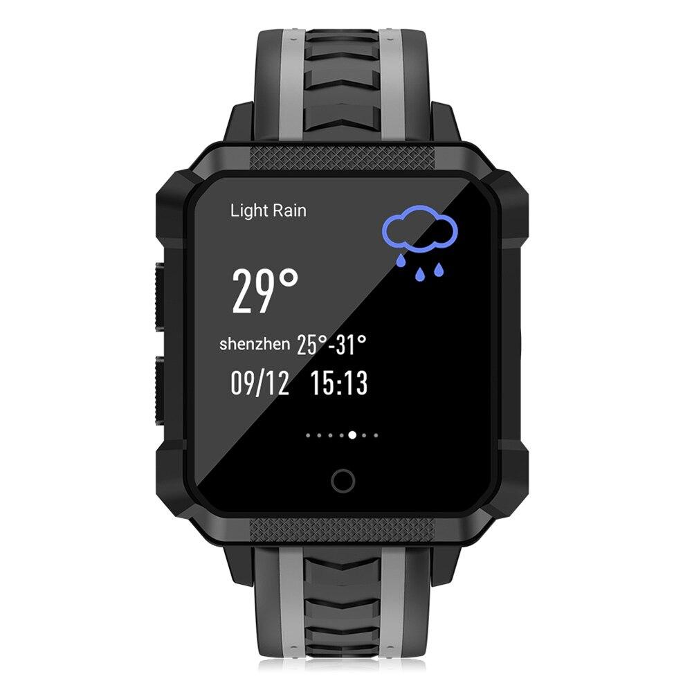 Microwear H7 4G IP68 Waterproof Smart Watch Men Android IOS Phone SIM GPS Heart Rate Monitor Outdoor Climbing Sport Smartwatch