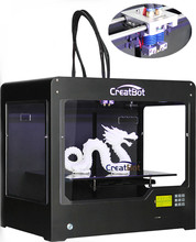 Upgrade extruder 400 degrees Dual Extruder Creatbot 3d printer Large metal / DE02  400*300*300mm Controller customed  3D Printer