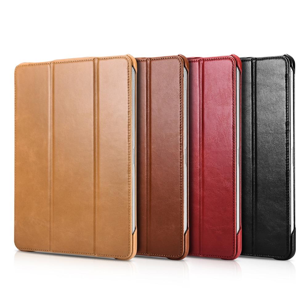 2019 Icarer Business Retro Leather Case for For iPad Pro 11 High Quality Genuine Leather Flip