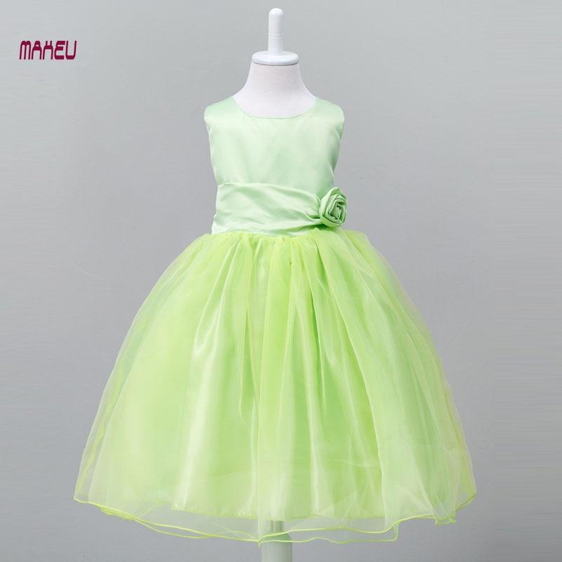 ᗕchildren Clothes Girls Beautiful Birthday Party Wedding Princess