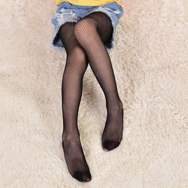adfb334c4e031 2018 New arrival Kids Baby Girls Black Mesh Infant Baby Girl Clothing  Children Fishnet Leggings Leg