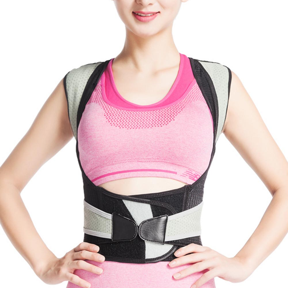 Posture Corrector Brace Upper Back Correction Comfortable Breathable For Women Men Sport Promotion Price