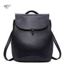 New Fashion Women Backpacks Shoulder Bag High Quality PU Lea