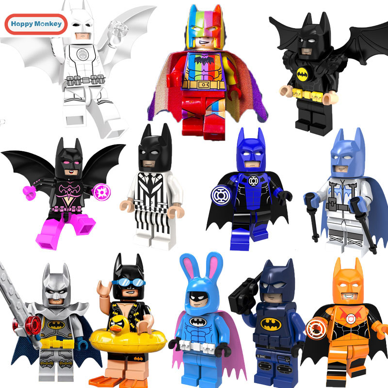 Marvel's Batman Building Blocks Lightyear Unicorn Girl Clown Compatible With LegoINGly Bricks Figures Toys Story Gifts For Kids