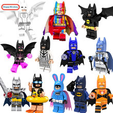 Marvel's Batman Building Blocks Lightyear Unicorn Girl clown Compatible with LegoINGly bricks Figures Toys Story gifts for kids(China)