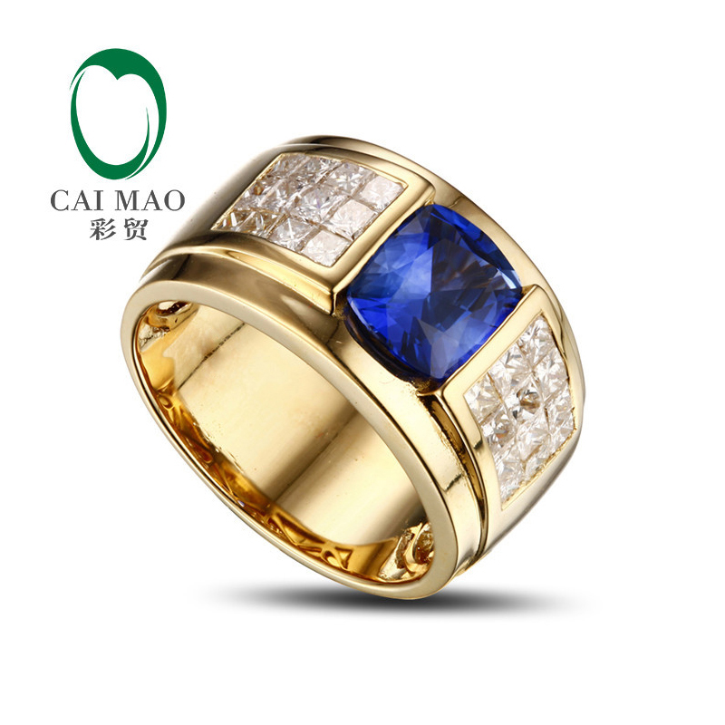 Promotion 14K Yellow Gold 3 1ct Tanzanite & Natural Diamond