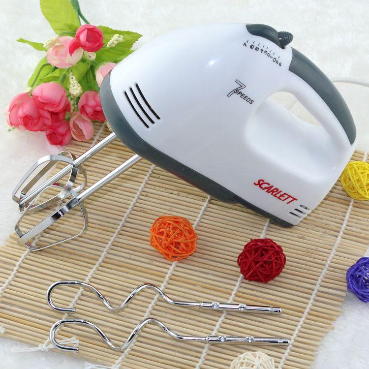 Herramientas de la hornada 180 w alta potencia mini electric cuatro mezcladores agitadores huevo mano utensilio de cocina