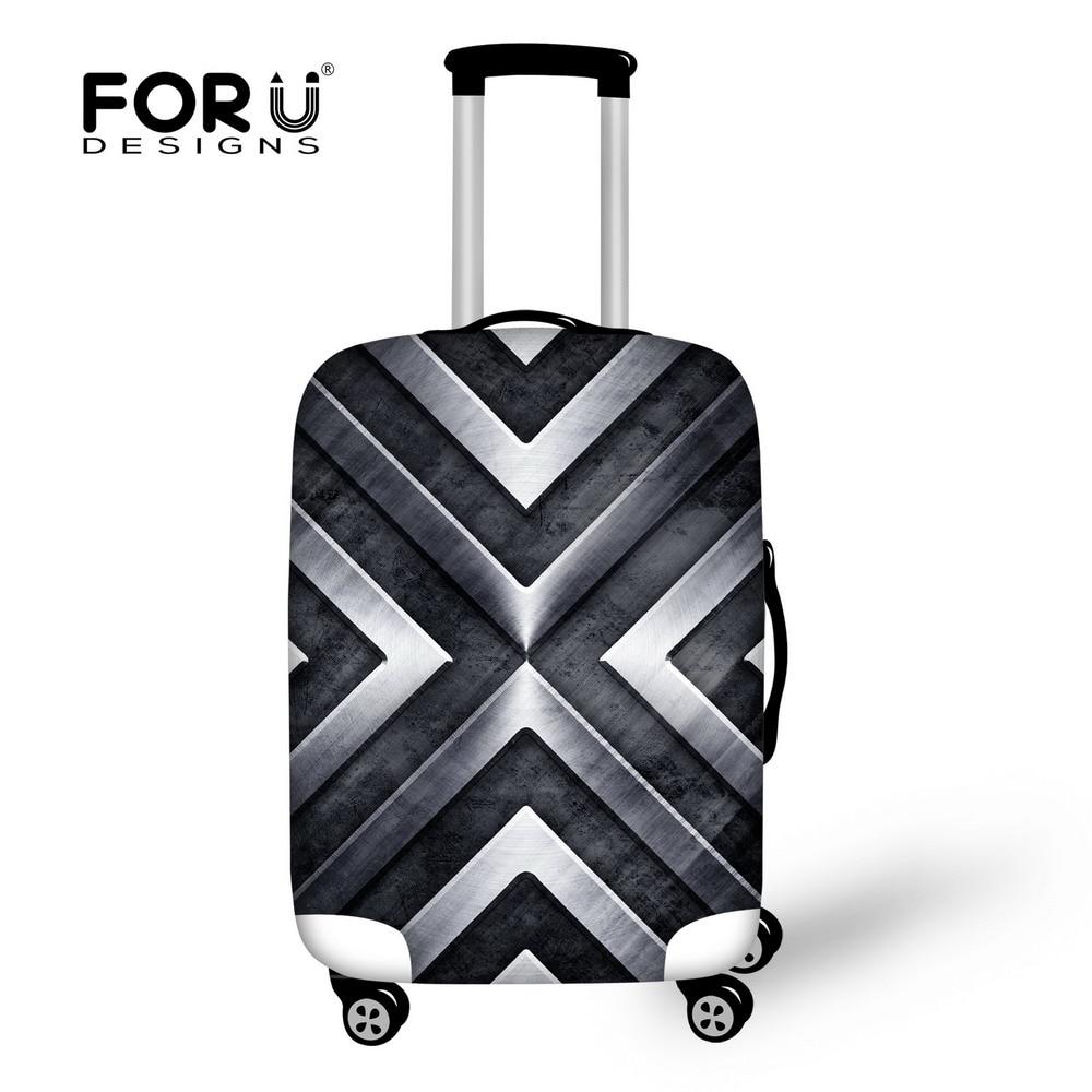 homens da moda viajar caso Pattern : Travel Suitcase Covers