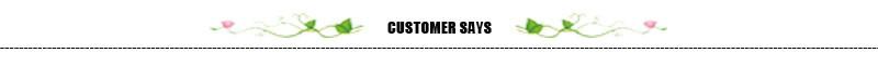 customer says