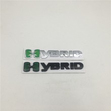 For Ford Hybrid Rear Tail Fender Emblems Chevy GMC Hyundai Logo Metal
