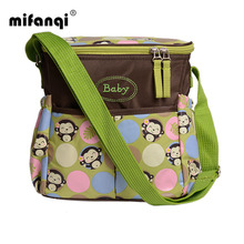 Waterproof Baby Backpack Maternity Mummy Mother Stroller Diaper Bag One shoulder Floral Nylon Travel Nappy Bags