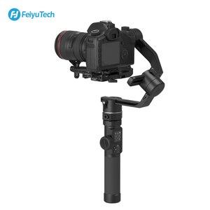 Image 3 - FeiyuTech 3 Axis AK4500 يده Gimbal استقرار عدة ل DSLR كاميرا سوني/باناسونيك/كانون مع البعيد القطب ترايبود اتبع Fcous